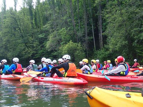 Actividad Domina Kayak Adultos