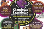 Programa chancletas 17 del Área de Juventud del Ayuntamiento de Pamplona