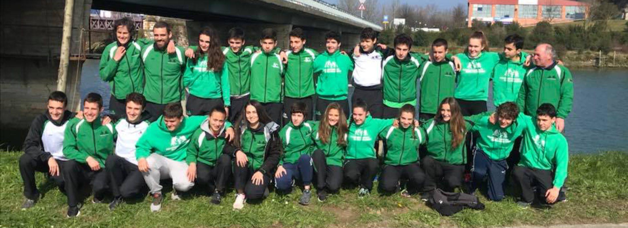 8 pódiums en el Campeonato de Gipuzkoa de Invierno