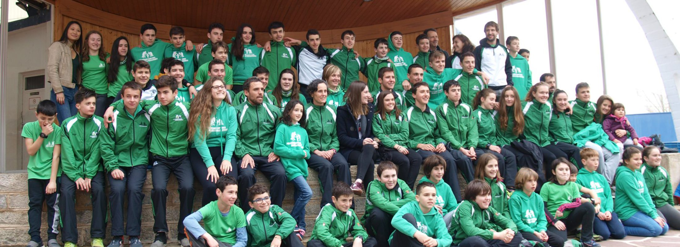 Actuación sobresaliente del Piragüismo Pamplona este fin de semana con cinco tripletes en el pódium y un total de 20 medallas.