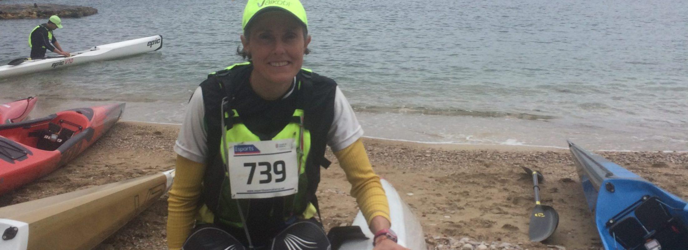 Amaia gana la II Copa de España de Kayak de Mar