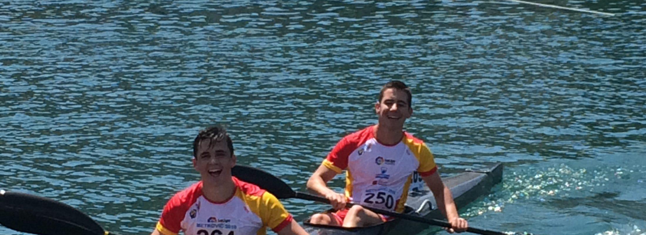 Sebastián López Muguerza y Víctor Arcos Mañas rozan el pódium en el Campeonato de Europa de Maratón