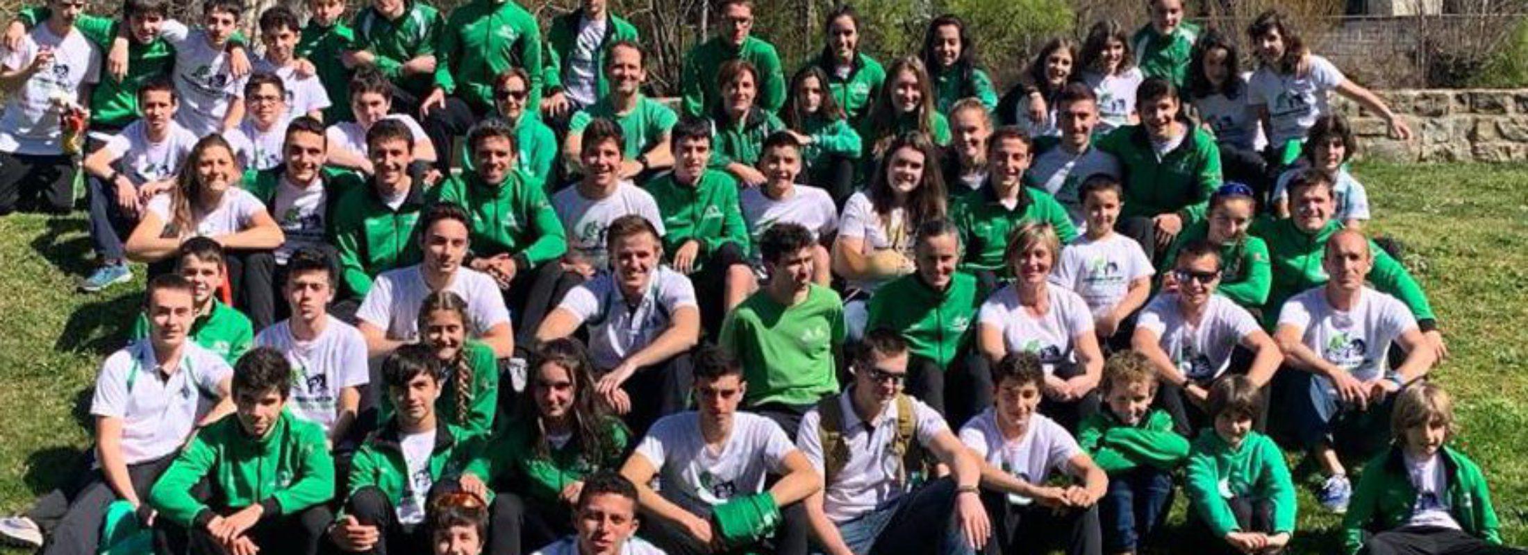 Actuación sobresaliente del Piragüismo Pamplona  este fin de semana con seis tripletes y un total de 37 medallas en el Campeonato Navarro de Invierno y el la 3ª jornada de JJDD.