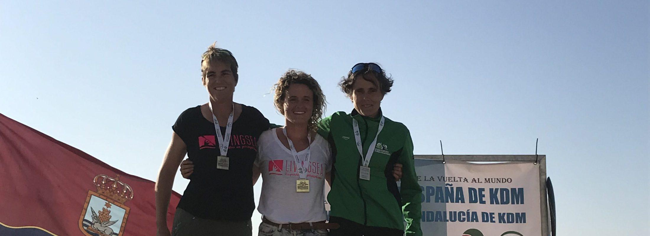Amaia Osaba Olaberri  3ª en la Copa de España de Kayak de Mar y clasificada para el mundial