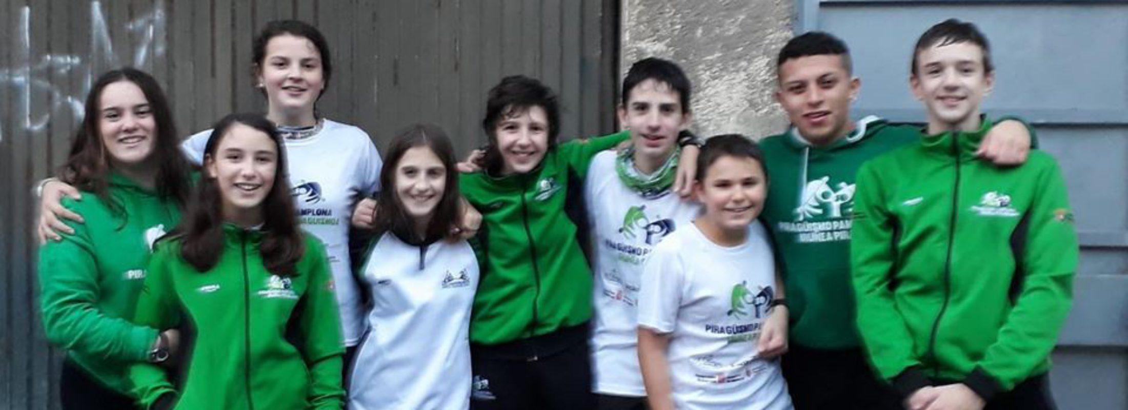 Juegos Escolares de Gipuzkoa en Pasaia