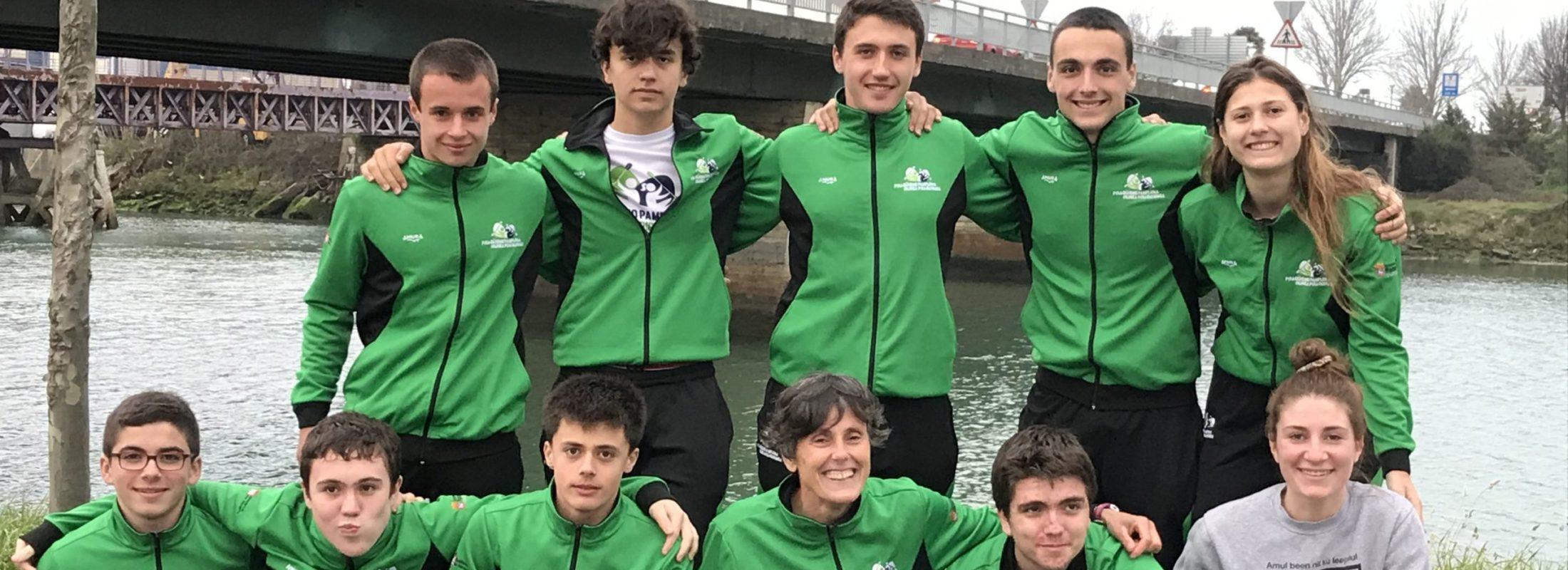 Moisés Grijalba San Julián e Ibai Tolosa Gómez primeros en el Campeonato de Gipuzkoa de Invierno