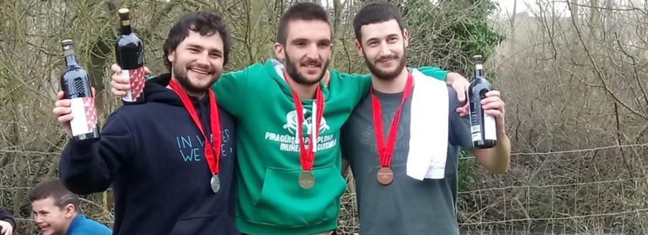 Ander de Miguel Aranaz campeón navarro de Aguas Bravas