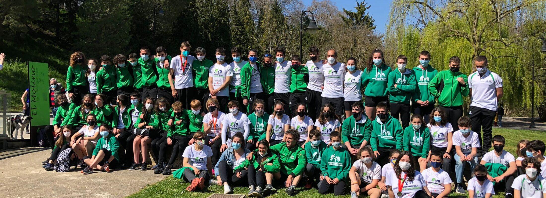 El Piragüismo Pamplona campeón navarro